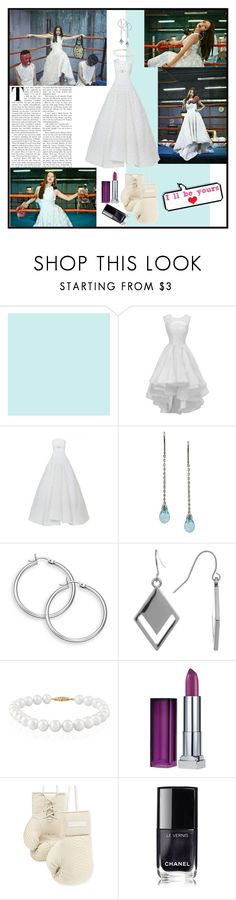 """""""Girls Day Hyeri"""" by arianmiliana ❤ liked on Polyvore featuring Spring Street, Belk & Co., Maybelline, Elisabeth Weinstock and Chanel"""