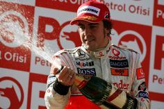 Fernando Alonso. Formula 1. Two time world champion driver. Racing legend.
