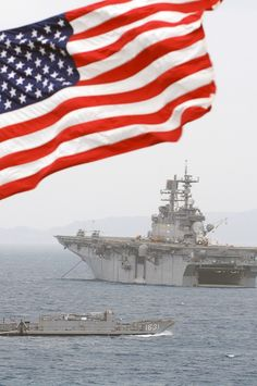USS Bonhomme Richard outside Okinawa, Japan