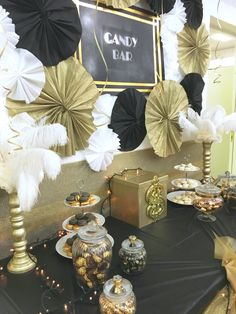 Gatsby party ✨ #candybar #sweettable #gatsbyparty #gatsbystyle #charleston