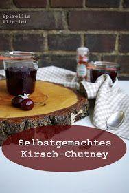 DIY Kirsch Chutney mit Zwiebel