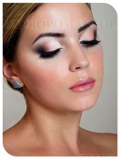 Im loving this eye makeup. I dont usually like over-the-top but theres something about this look that I really love.