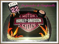 Tarta Harley Davidson  Cake Harley Davidson