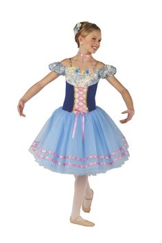 my ballet costume for village girls (ballet) to chim chim choree this year - Nat