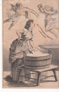 James Pyle Pearline Laundry Soap Starch New York Victorian Trade Card C 1880s | eBay seller pinecondo