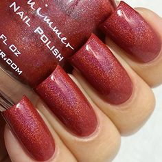 Men are From Marsala Holographic Nail Polish 05 oz Full Sized Bottle -- You can find more details by visiting the image link.Note:It is affiliate link to Amazon.
