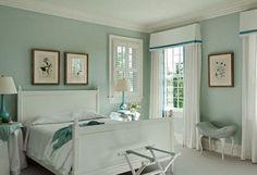 Romantische slaapkamer idee.