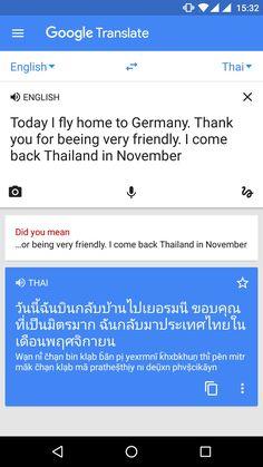 Bye bye in Thai You Meant, Bye Bye, Comebacks, Thailand, Germany, Lol, Deutsch