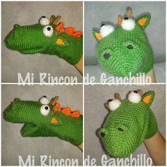 #crochet #ganchillo #amigurumi #dragon #dragón #marioneta #titere #puppet…