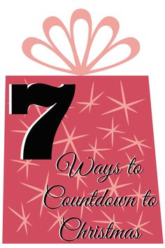 Do you have advent calendars or other ways to countdown to Christmas? We have FOUR in our house. :)