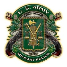 US Army MP Military Police Journal