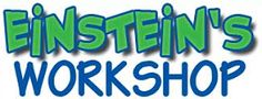 Einstein's Workshop is an amazing space for kids to explore the creative side of science, technology, engineering, and math (STEM).