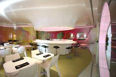 Kurve Restaurante Moderno Diseño Interior