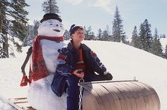 Jack Frost (1998) A father, who can't keep his promises, dies in a car accident. One year later, he returns as a snowman, who has the final chance to put things right with his son before he is gone forever.