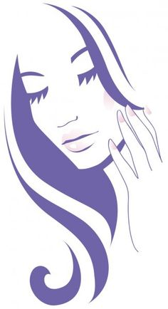 Женское лицо — стоковая иллюстрация Hair Icon, Stained Glass Projects, Woman Face, Illustration, Beauty, Women, Beauty Salon Logo, Icons, Faces
