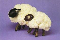 cauliflower sheep!