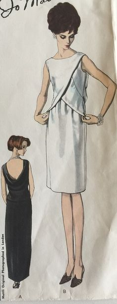 Vogue Couturier Design Vintage Sewing Pattern by StudioMariLaura