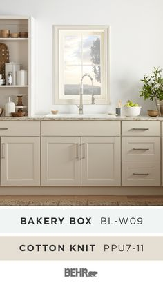 Discover how to better pair gray with other color combinations with a basic lesson in deciphering color undertones curated by the team at Colorfully BEHR. Kitchen Redo, New Kitchen, Kitchen Remodel, Kitchen Design, Kitchen Cabinets, Traditional Kitchen Paint, Kitchen Paint Colors, Neutral Kitchen Colors, Paint Colours