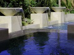 Splendid Modern Outdoor Water Features Ideas with fountain ...