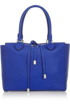 Farklı renklerdeki deri çanta modelleri, bu yılın trendlerinden biri...
