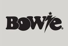 Logo for the David Bowie exhibit at the Victoria and Albert Museum.