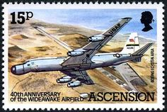 aria at ascension island Uk Stamps, Postage Stamps, Ascension Island, Aviation World, Fighter Aircraft, Stamp Collecting, British Isles, Countries Of The World, Boat