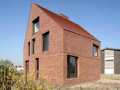 Huizen kijken - Liviosbrons geanodiseerde aluminium ramen