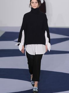 Glimpses at Fashion: Look of the week–Fashion Fall with Eudon Choi