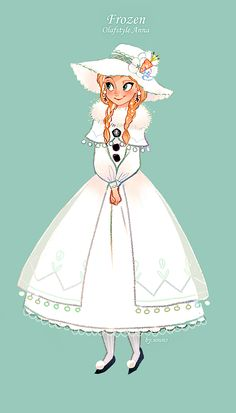 Princess Anna- Disney fan art