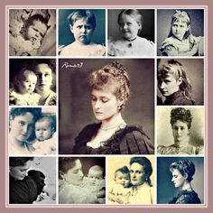 Nicholas II and his family throught the years