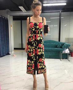 Floral Fashion, Fashion Dresses, Fashion Design, Dressy Outfits, Casual Wear, Lace Dress Styles, Evening Dresses, Summer Dresses, Feminine Dress
