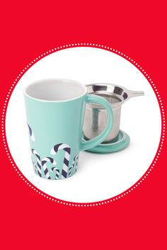 this colour-changing mug, filled with your very favourite tea. Davids Tea, Candy Cane, Tea Time, Tea Party, Tea Cups, Addiction, Essentials, Bread, Colour