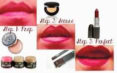 Blushing Blog   Makeup Tutorial Dark and Mysterious - how to rock a dark lip