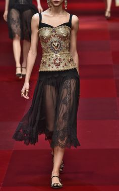 Dolce & Gabbana Trunkshow Look 52 on Moda Operandi