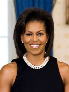 Our First Lady Michelle Obama.  Beauty, Intelligence, Grace and Class.