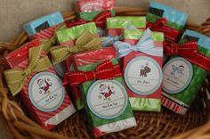 christmas crafts to sell | Santa Hershey Bars: $2.50 each (8 available) Contains one regular ...