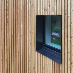House Fachada Madera 68 New Ideas Wood Cladding Exterior, House Cladding, Timber Cladding, House Facades, Wood Architecture, Architecture Details, Window Reveal, Wooden Facade, Casas Containers