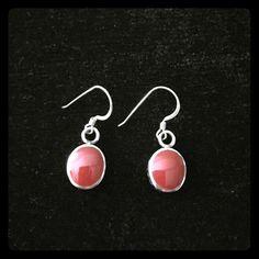 Silpada Earrings Silpada Sterling silver and red coral filigree earrings. Silpada Jewelry Earrings