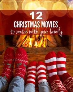 12 Must-watch movies for your Christmas season! #4 is my favorite...