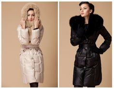 Fashion 2013 Winter New Style Duck Down Women Warm jacket Lady