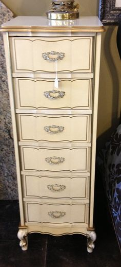 French provincial lingerie chest by newleafgalleries, via Flickr