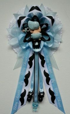 Baby Shower Corsage By Fancy Little Favors. All Available Items Are Listed  For Sale On Ebay At: Http://myworld.ebay.com/fancylittlefavors1/ |  Pinterest ...