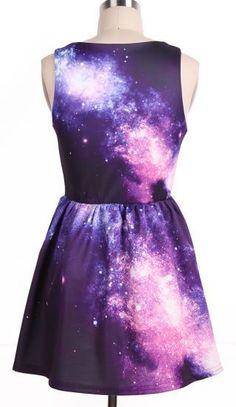 Galaxy Pattern Dress