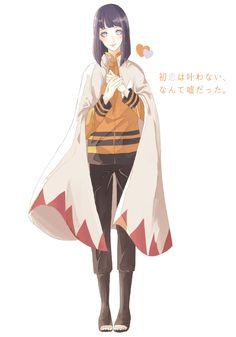 Naruto - Hinata as Hokage Naruto
