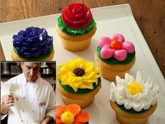 ▶ How to ice a cupcake like Cake Boss!! ( Buddy Valastro ) - YouTube