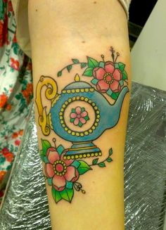 An old design of mine i finally got to tattoo a few days ago on a lovely lady, the biggest piece ive done so far, good funs! By me, Sophie Adamson, Apprentice at Art and Soul Tattoo, Plymouth UK :)