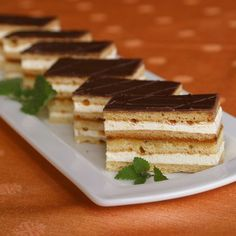 Delicious Desserts, Dessert Recipes, Hungarian Recipes, Christmas Cooking, Sweet Life, Tiramisu, Feta, Cheesecake, Sweets