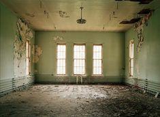 David Maisel :: Photography Asylum 4 Lounge/Meeting Room, Ward abandoned portion of J Building Oregon State Hospital, Salem, OR Abandoned Asylums, Abandoned Buildings, Abandoned Places, Haunted Places, Insane Asylum, Abandoned Hospital, Salem Oregon, Architecture, Decay