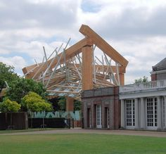 The Serpentine Gallery Pavilion 2008, Hyde Park, London.