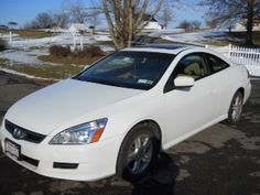 HONDA 2007 ACCORD EX COUPE - -Low miles- 51K, Great condition, well maintained. -Whit... #ReferLocal